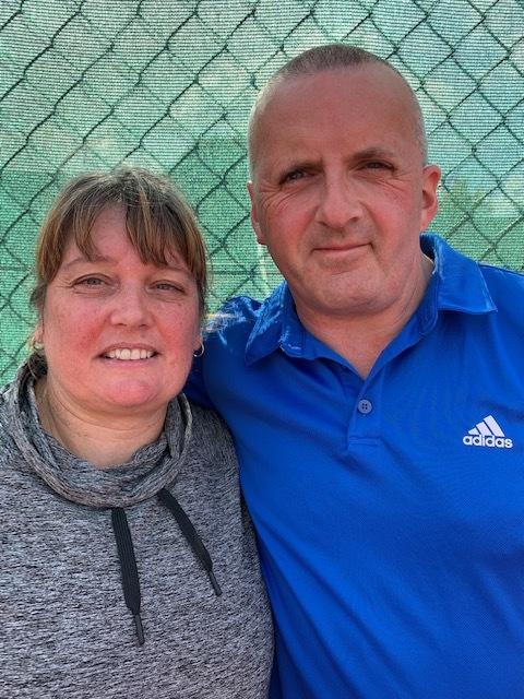 Mixed Doubles Winners: Lou Palmer & Dave Stuart