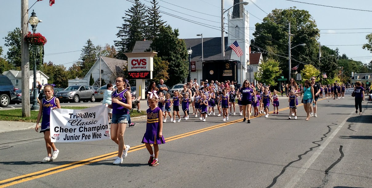 Purple & Gold Parade! - Join us in celebrating our beautiful downtown & all our area offers!Starts at Noon. Line Up on Putnam StAll Welcome!Register Online or Email: bbogan7777@aol.com