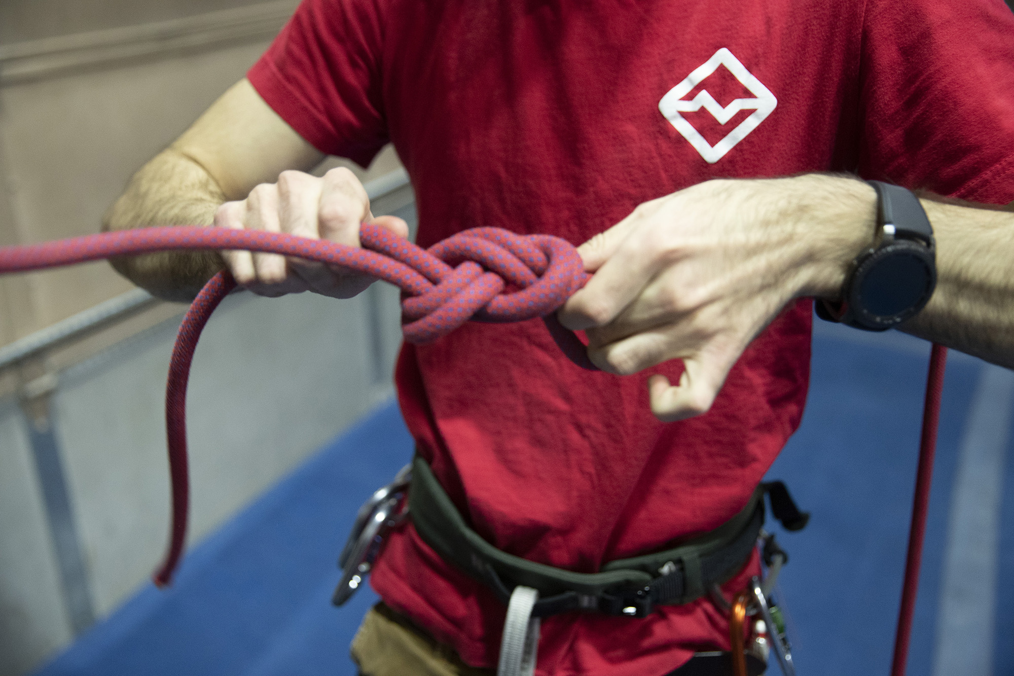 Classes - An extensive selection of classes covers everything from basic climbing and rope skills to tackling the real deal with building anchors + more.