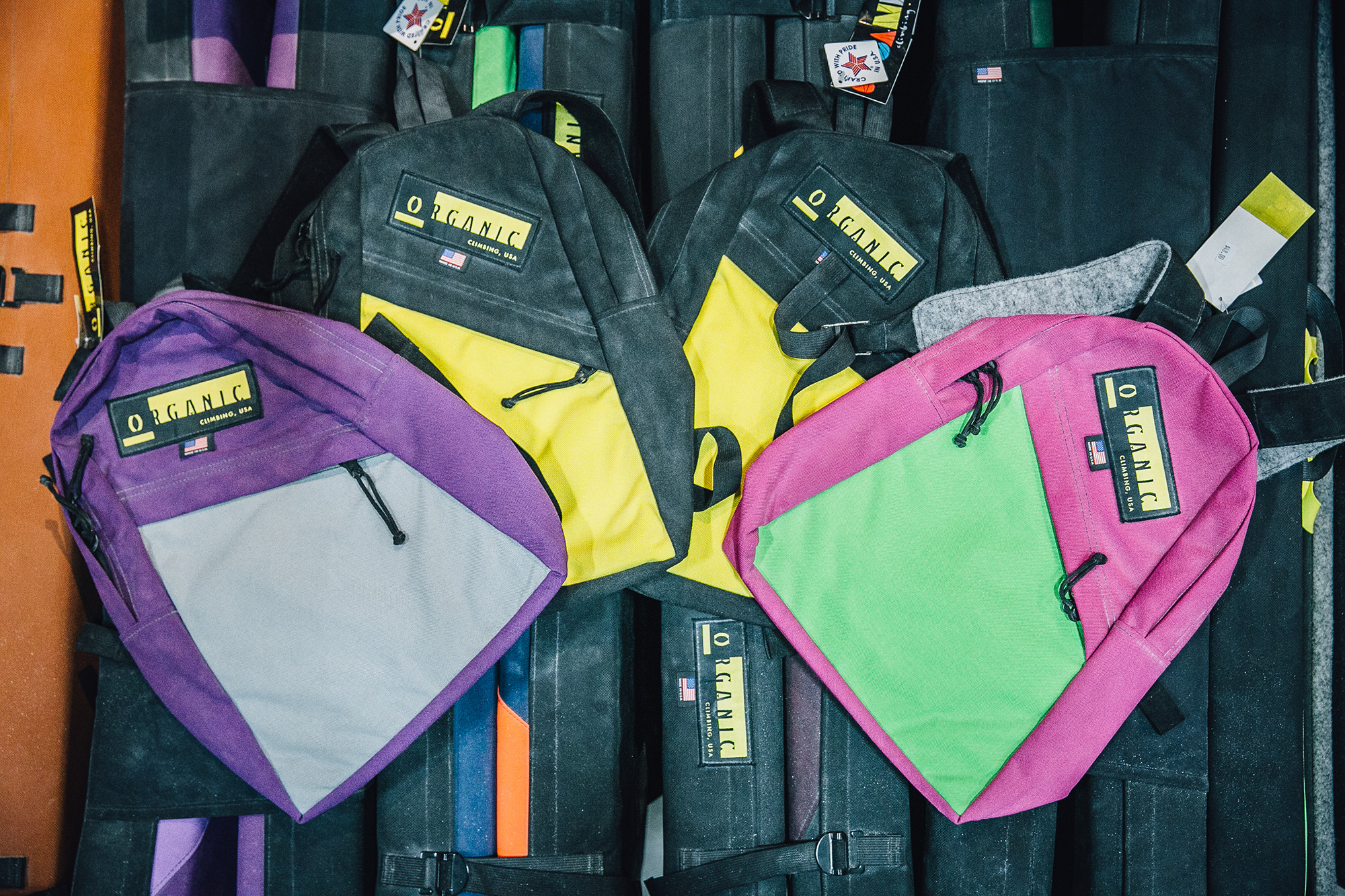 Crash Pads - Portable pads for bouldering outside. (You can also rent ours!) Check out the boulders right in our own backyard with the Gunks Bouldering Guide, available in our gear shop.