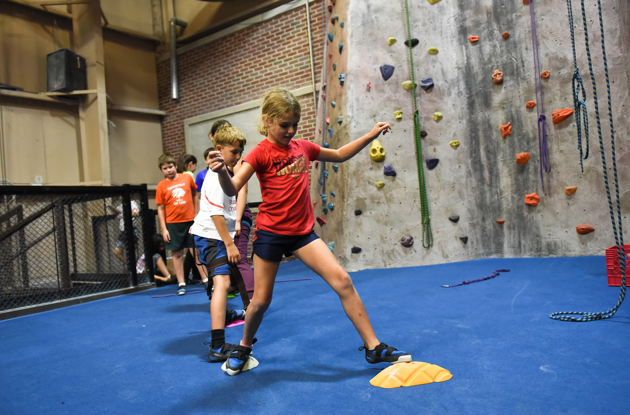 Life Skills - Our youth climbers are charged with being active participants in their success: they are challenged to think critically and creatively and collaborate with their peers to solve complex problems. This builds responsibility, independence, and a team mentality.