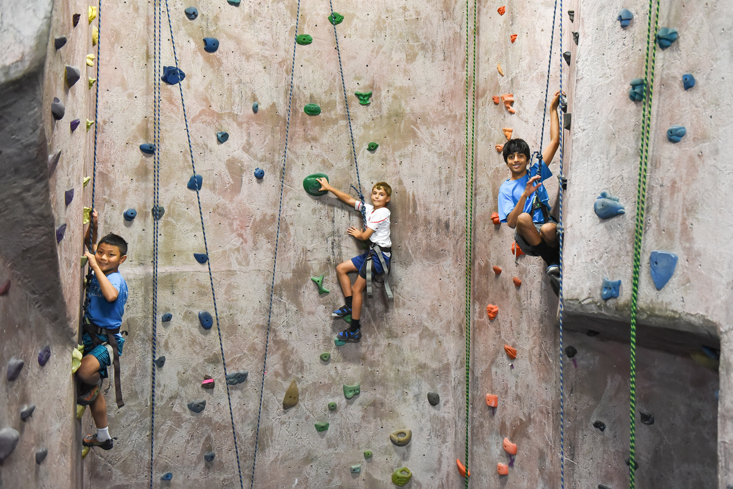 Teambuilding event - Climbing area reserved for group/event to belay for climbers. Staff can organize team building climbing games if desired. Party room reserved for whatever food and treats you want to bring.