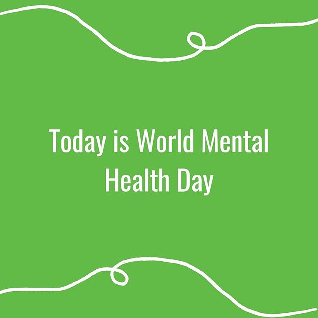 Today is #worldmentalhealthday. Everyone experiences differing levels of mental health in their lifetime. Even if you don't have a mental health condition yourself you know someone who does. It's everyone's job to make sure that we are talking about our mental health in a way that doesn't discriminate and that is treatment positive. Talk isn't just good, it's essential.