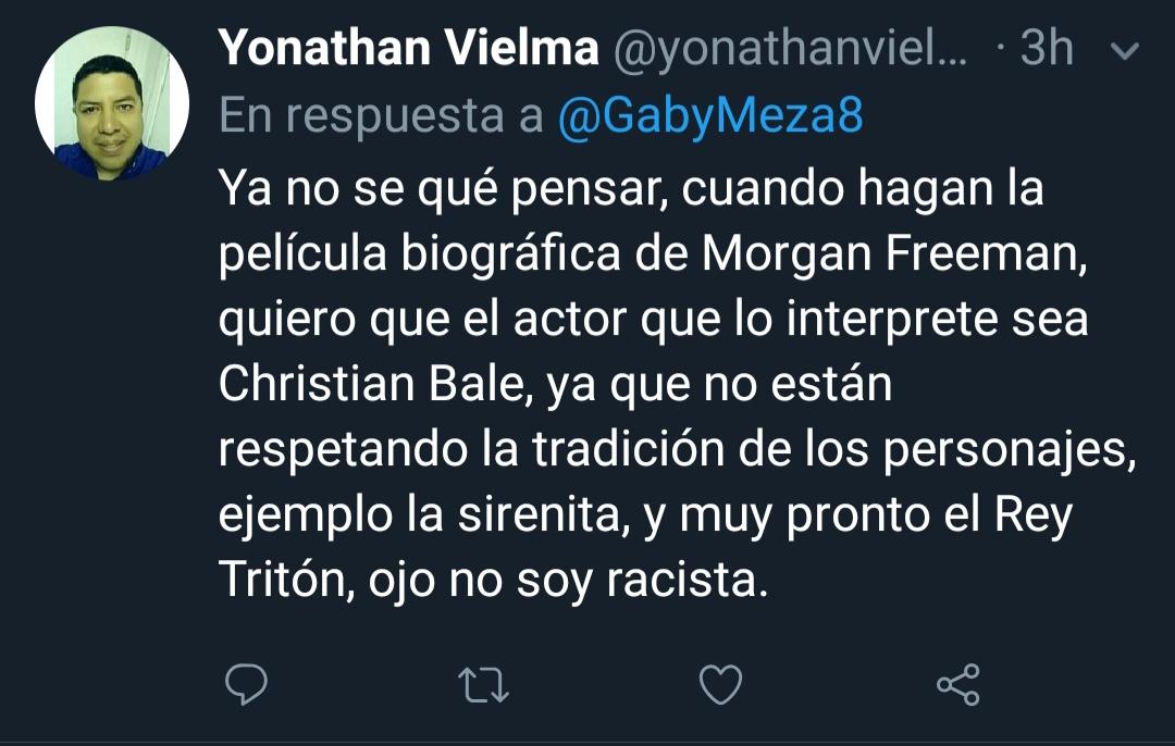 Ojo, Yonathan, eres racista.