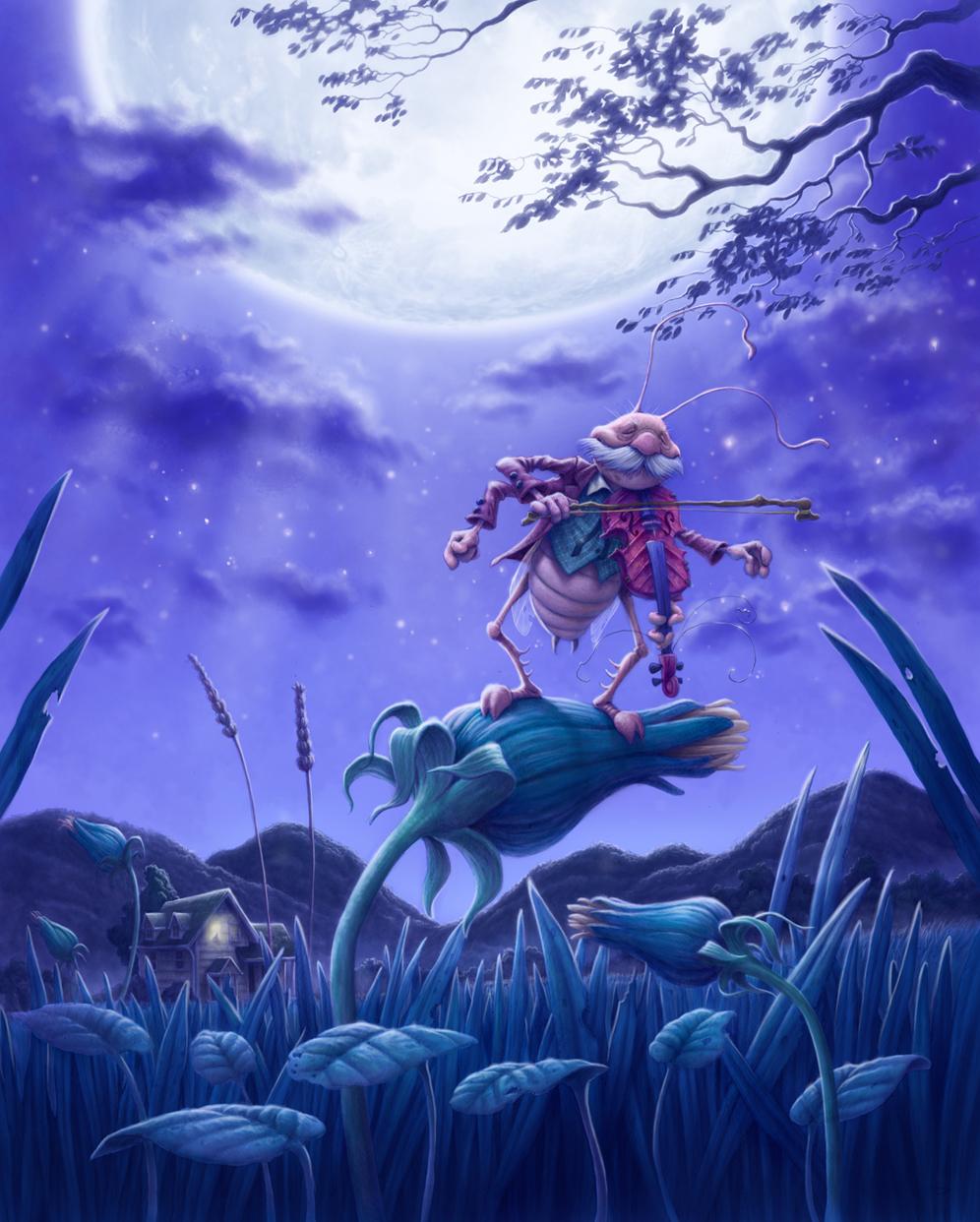 Fiddler in the Moonlight