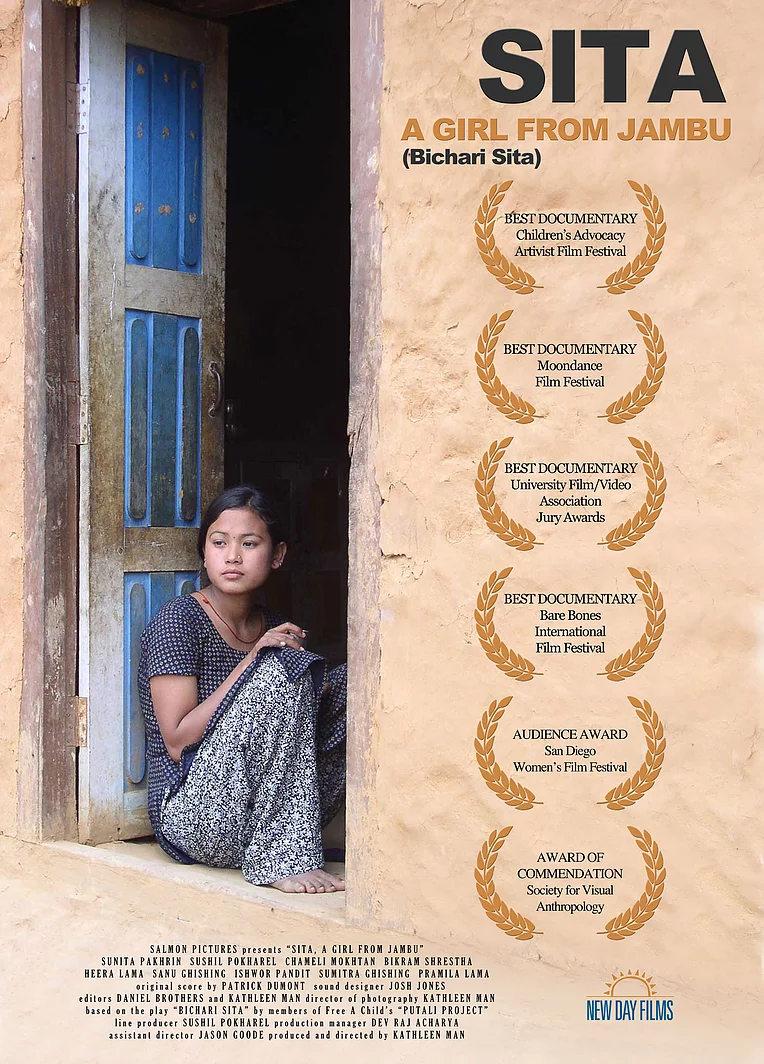 Sita, a Girl from Jambu - Adapted from a street drama conceived and staged by village girls in rural Nepal, SITA tells the story of a young girl who is trafficked into sexual slavery. An innovative blend of documentary and fiction, SITA offers an intimate view of everyday life and the cultural and economic factors that lead to the exploitation and prostitution of women and children in Nepal. The film was made in collaboration with local grassroots organizations and shot on location in the heavily trafficked Eastern Terai region, near the Indian border.An official selection at over 30 festivals, and winner of 7 awards, SITA is distributed by New Day Films and can be purchased here.