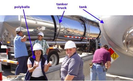 Sitting at an R|CAT permitted San Diego power plant site in 2004, near the aqueous ammonia storage tank loading/unloading area