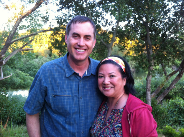 With BJ Fogg after 2012 June Boot Camp, Healdsburg, California