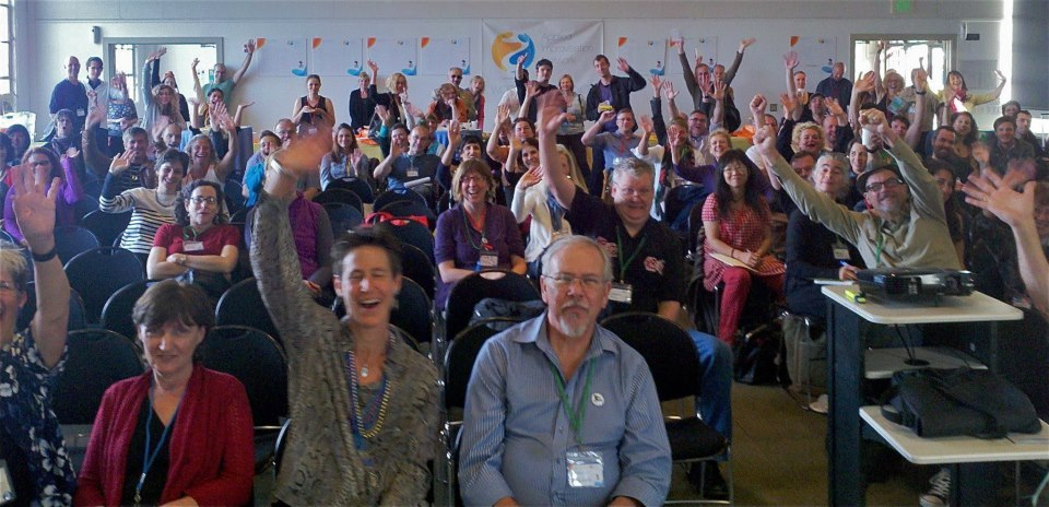 At    Applied Improvisation Network (AIN) 2012 World Conference -  Be The Change   - Fort Mason Center, San Francisco, CA (September 20-23)