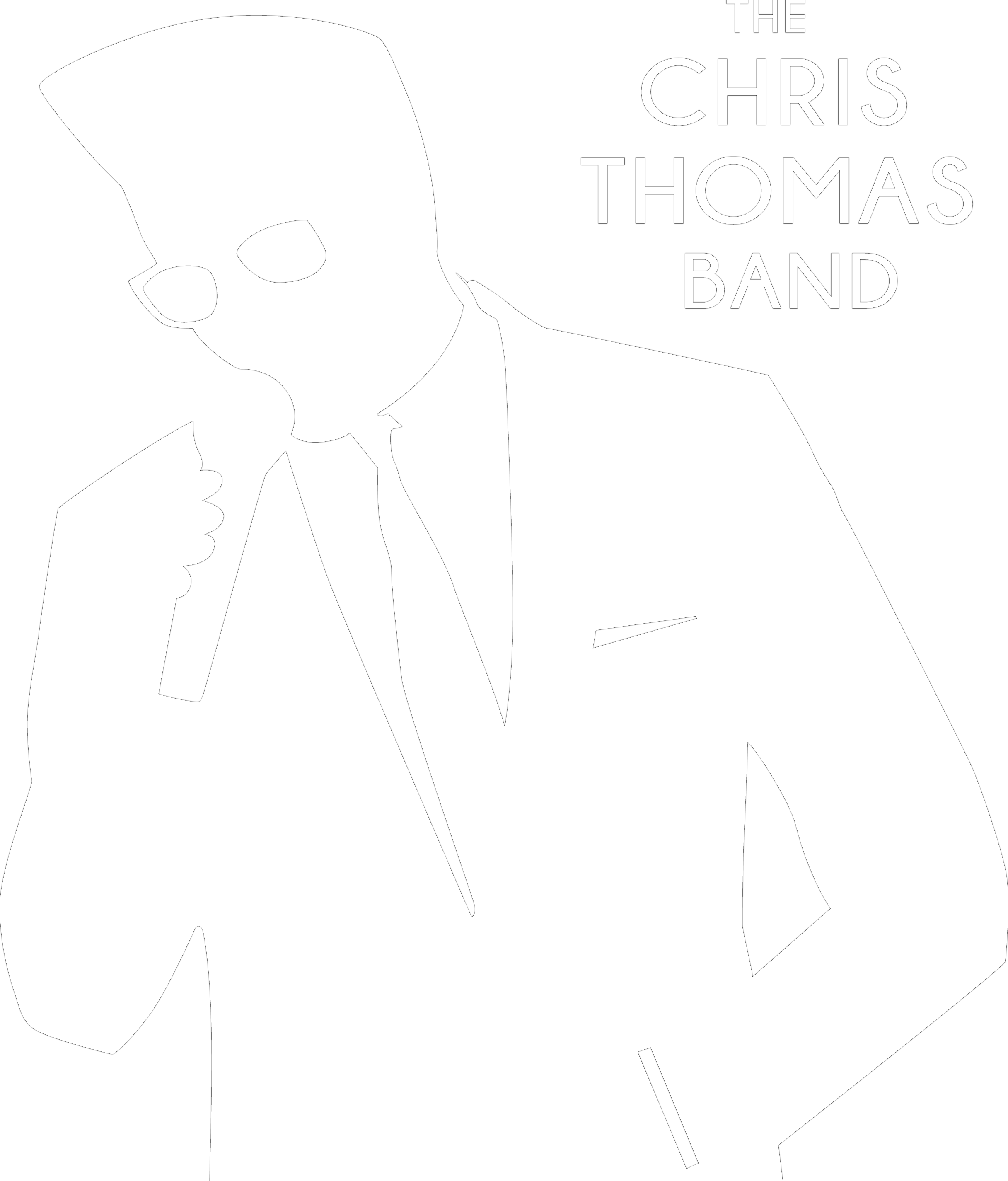 Inverted The Chris Thomas Band Logo.png