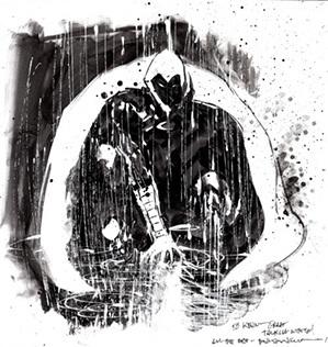 Cavaleiro da Lua: O primo do Batman que cresceu e apareceu.