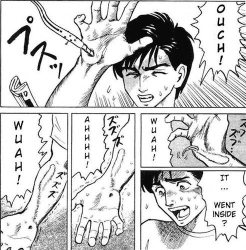 Contatos imediatos do sétimo grau: a infecção de Shinichi