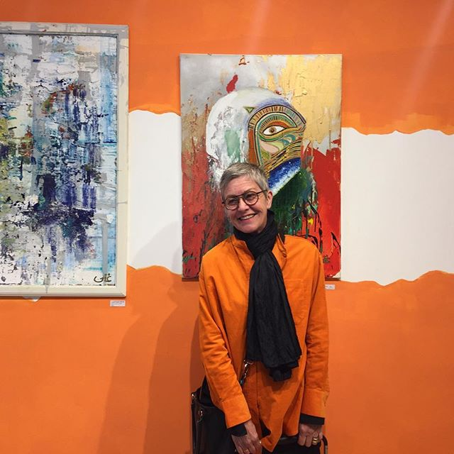 There's always a reason to smile! 😀 Artwork by one of our featured artists, Ghina Sabra at our #21YouthStreet creative hub.  Pop in & experience some art & pop-ups!  #joy #london #orange #fun #youth #art #instagood #instadaily #monday #bankholiday