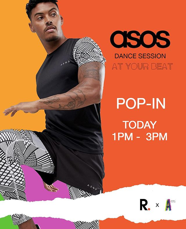 Today it gets BETTER guys! 🥳🤩 We've partnered with @asos and we're having a dance session from 1pm.  Wanna get some ASOS vouchers too? • There's vibes, refreshments, dancing, networking, and pop-ups available. 🎉 •  3 Carnaby St, W1F 9PB  #21youthstreet #asos #carnabylondon #london #dance #arts #youth #popup #party #atyourbeat #vibes #goodvibesonly