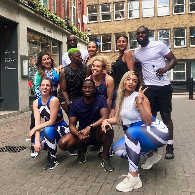 @asos & @atyourbeatstudio really put us to the test & made the team sweat! 😅🕺🏿💃🏽 #21YouthStreet • We LOVED this wellbeing dance session & you can see some more insights on @asos' story.