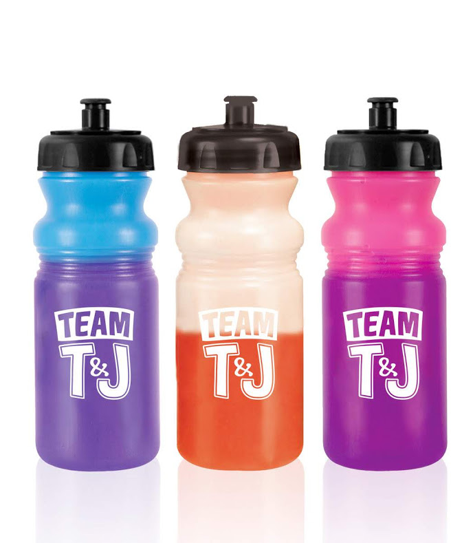 Color Changing Water Bottles Promo Swag