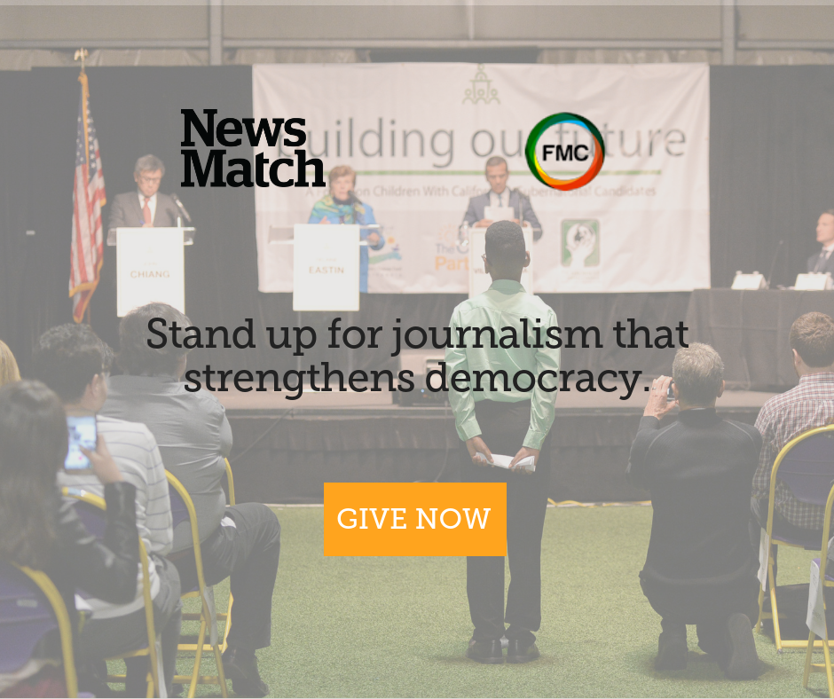 NewsMatch doubled individual gifts to trusted news organizations including Fostering Media Connections'  The Chronicle of Social Change  in another record-setting year.