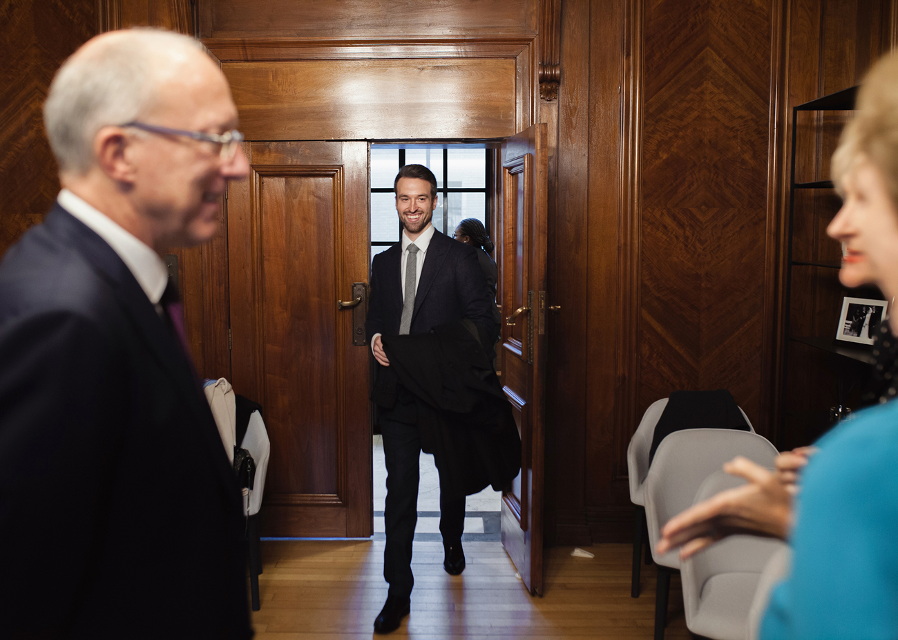 Westminster wedding at Marylebone town hall