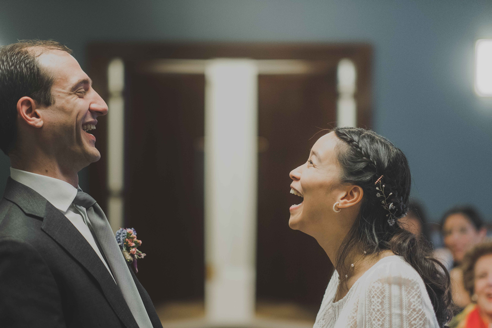 Hackney town hall wedding photos