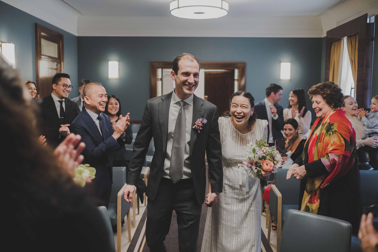 Hackney town hall wedding