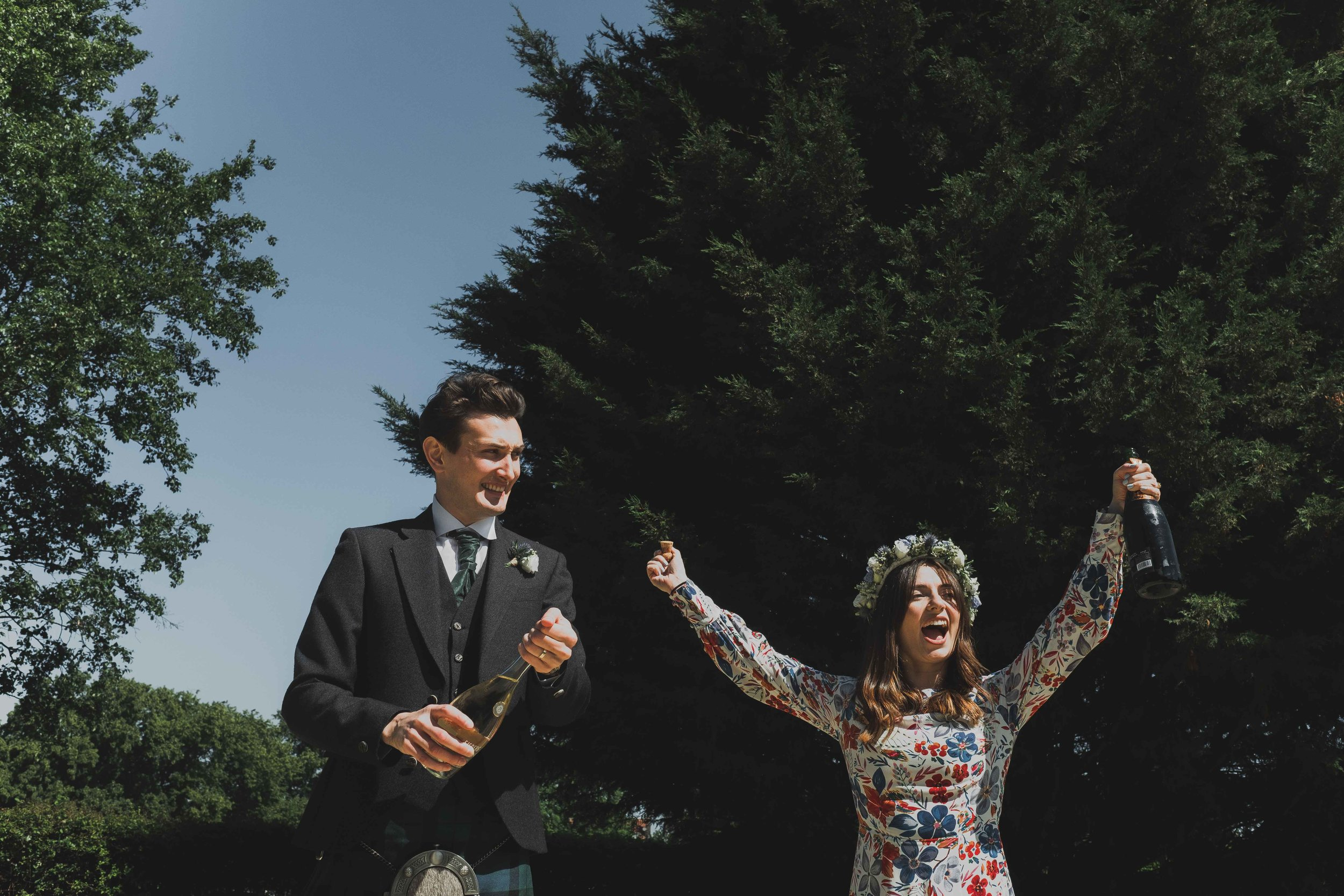 George Meehan House - Lizzie & NickLondon Wedding Photographer