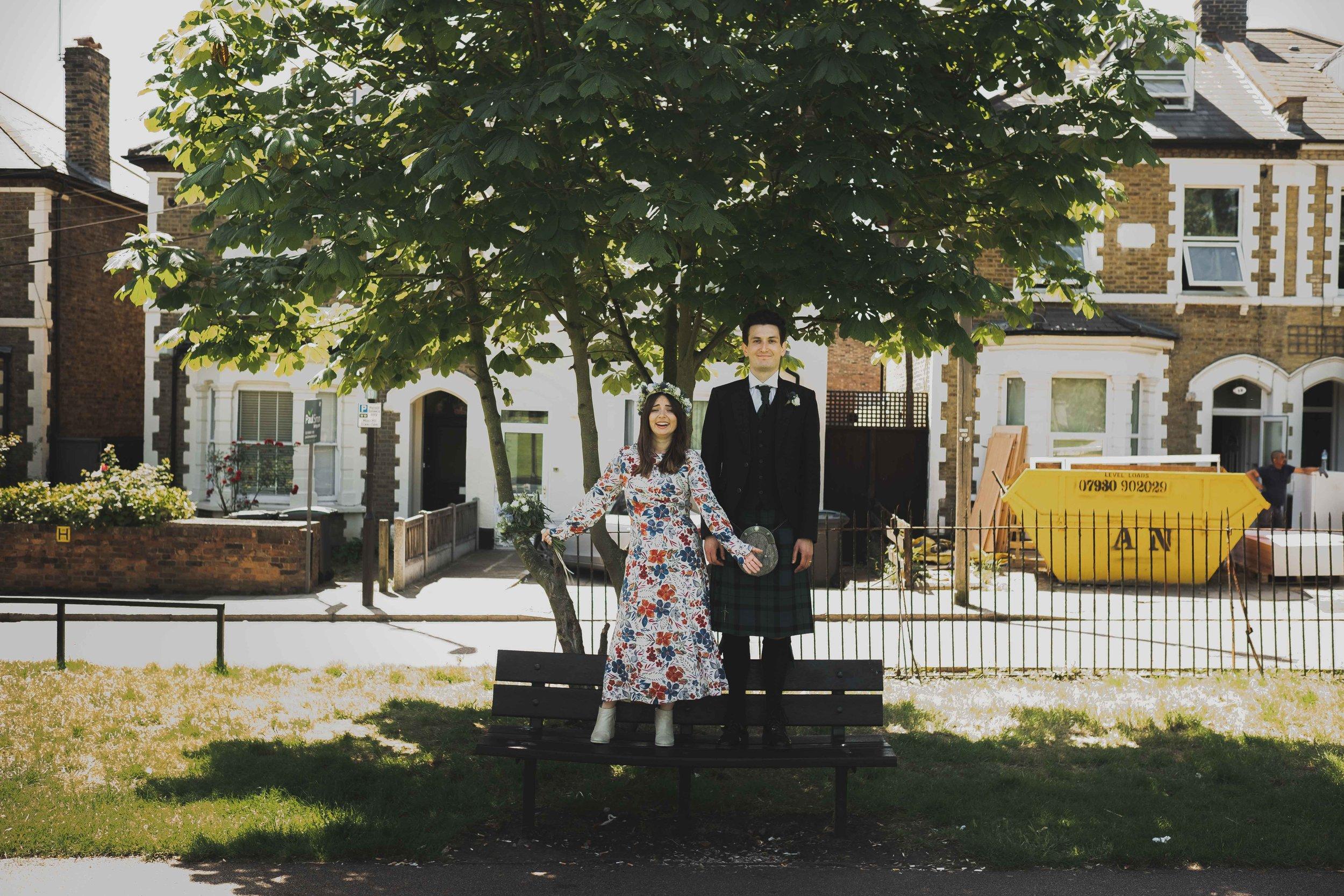 George Meehan House Wedding