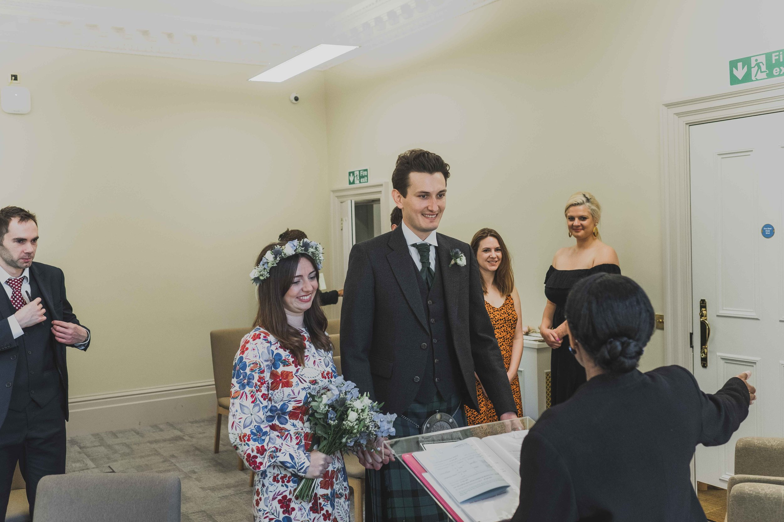 George Meehan House Wedding ceremony