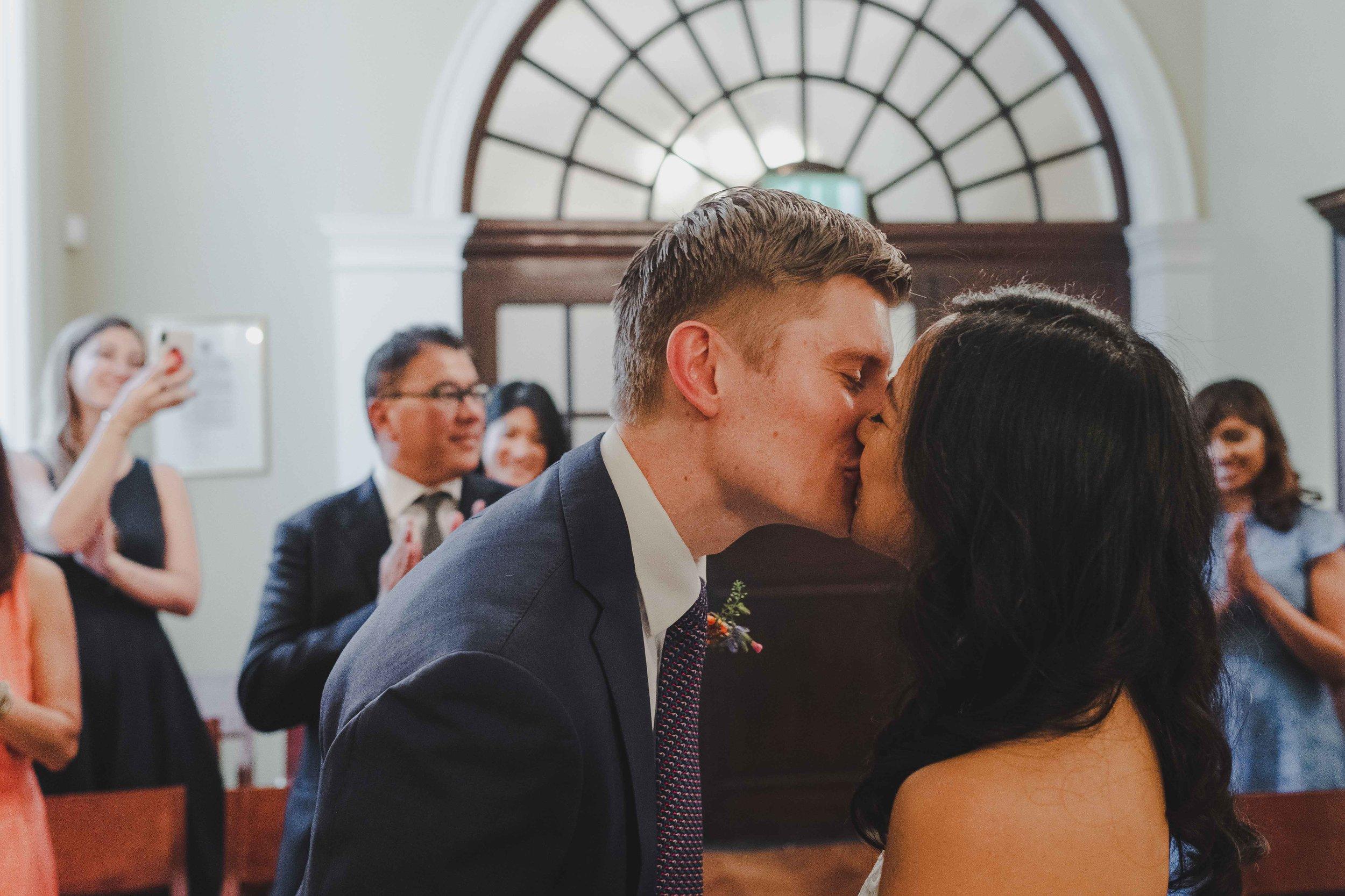 Chelsea Old Town Hall - Tessa & MatthesLondon Wedding Photographer