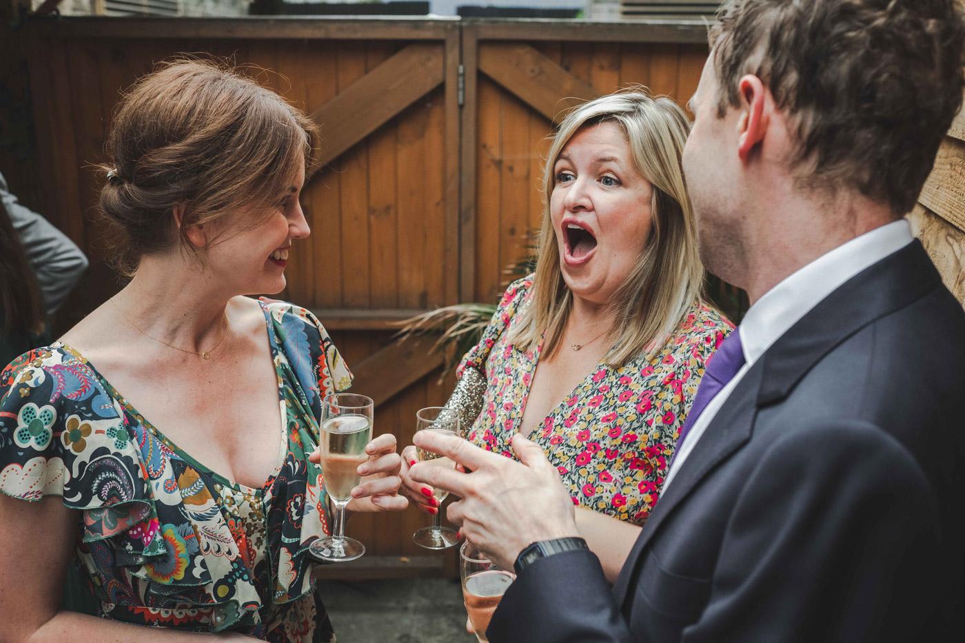 hackney wedding photographer candid moments
