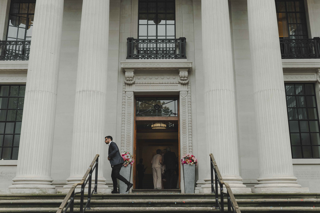 Marylebone wedding ceremony