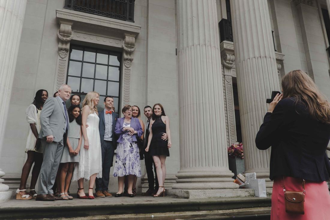 Marylebone town hall wedding photo