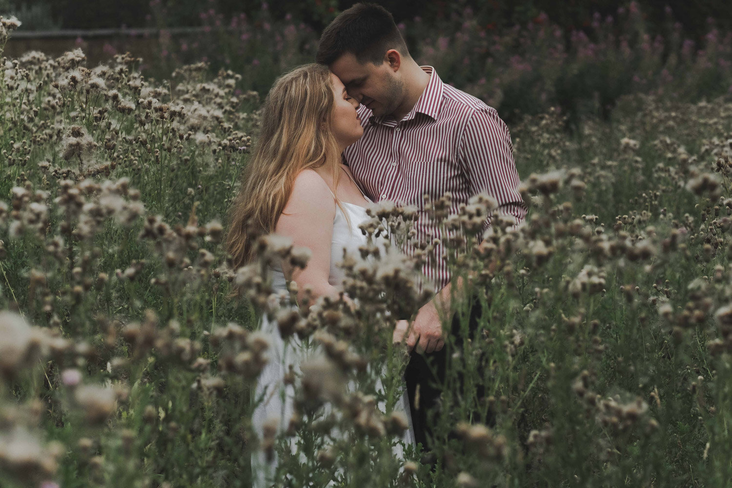 engagement photography in London Hampstead Hill