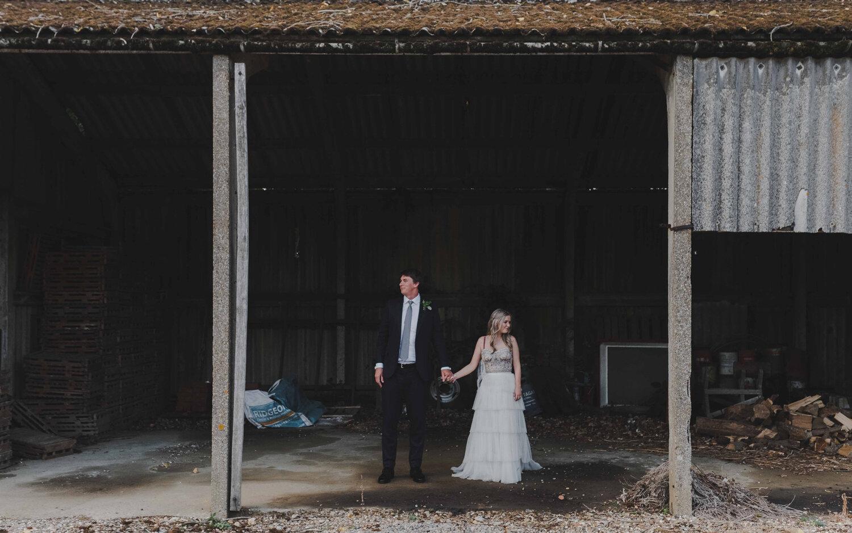 Houchins Farm Wedding - Rona & AlexLondon Wedding Photographer
