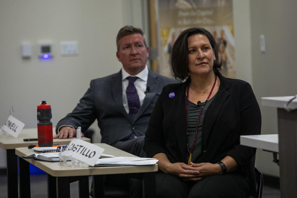 GENERAL ELECTION - Caldwell, Castillo come away with the most votes in Ogden's mayoral primary(Photo credit: Ben Dorger, Standard Examiner)