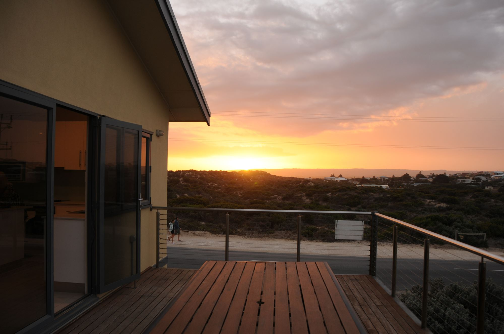 Amazing Entertaining Area Views   Front & back decks overlook the sea & hills   Make A Booking