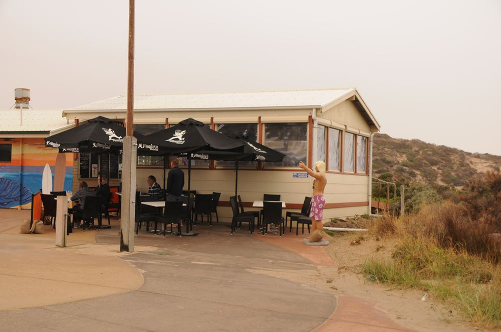 With a fantastic cafe on the beach you can enjoy a lazy breakfast or sneak in a quick coffee. - Be sure to check it out as their menu is amazing!