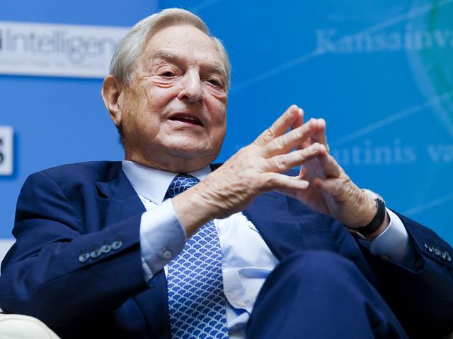 George Soros ( Flickr )