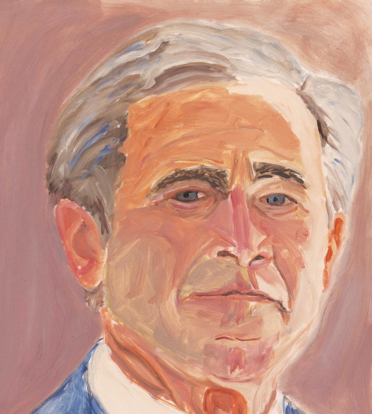 George W. Bush ( Self-portrait )