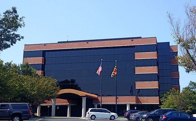 Sinclair Broadcasting headquarters in Maryland. ( James G. Howes )