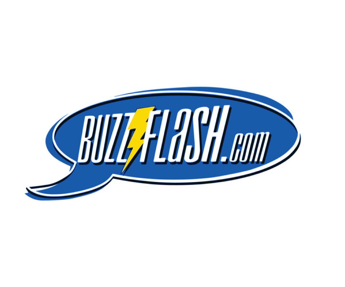 The original BuzzFlash logo first appeared in May of 2000.