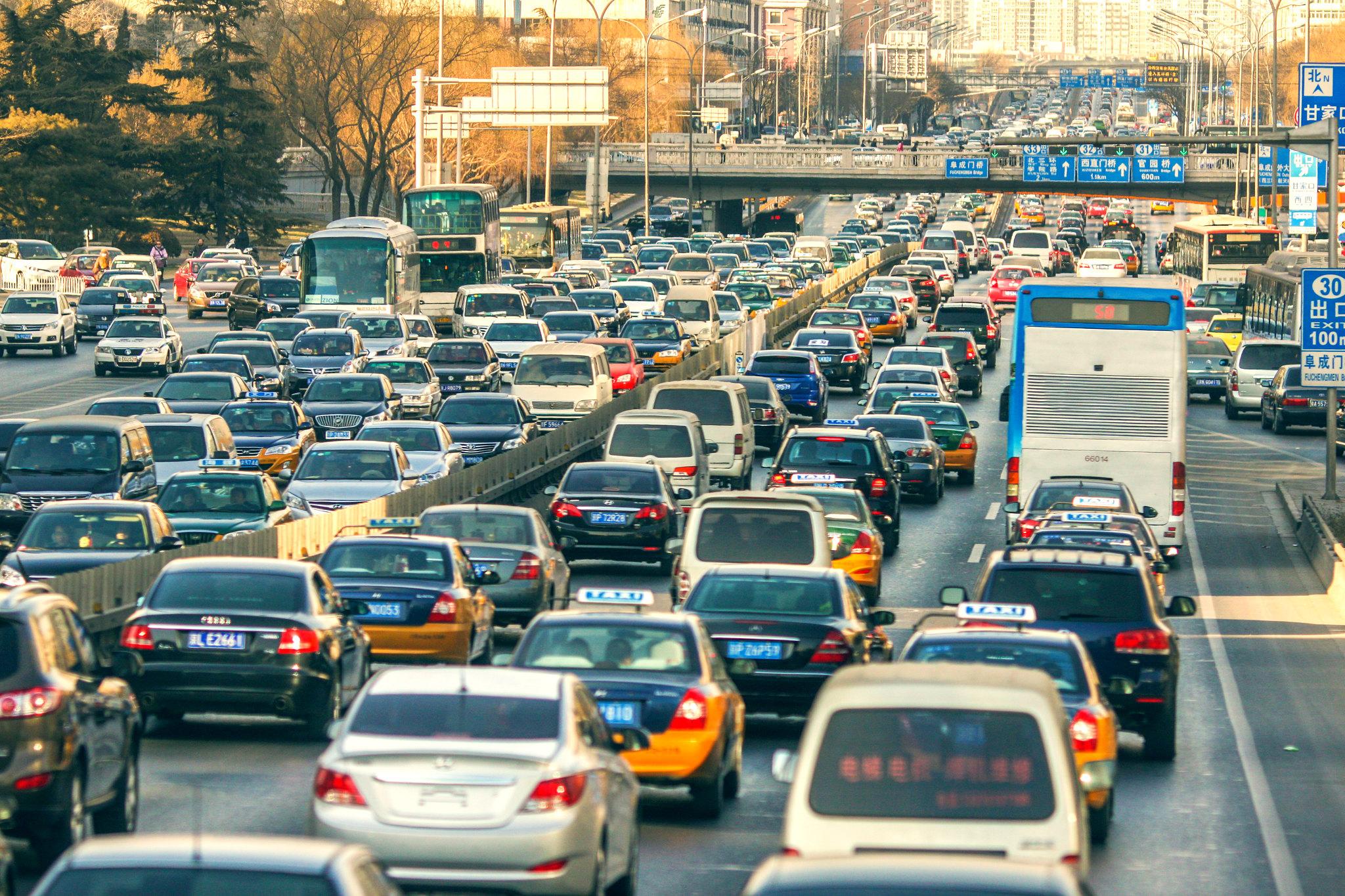 Traffic Jam ( Shiyang Huang )