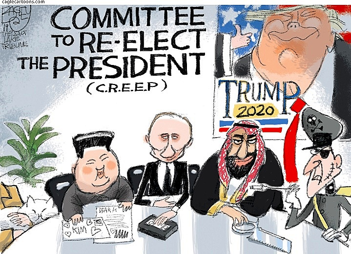 Committee to Re-Elect the President ( CagleCartoons )