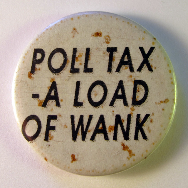 Anti-Poll Tax Badge ( Danny Birchall )