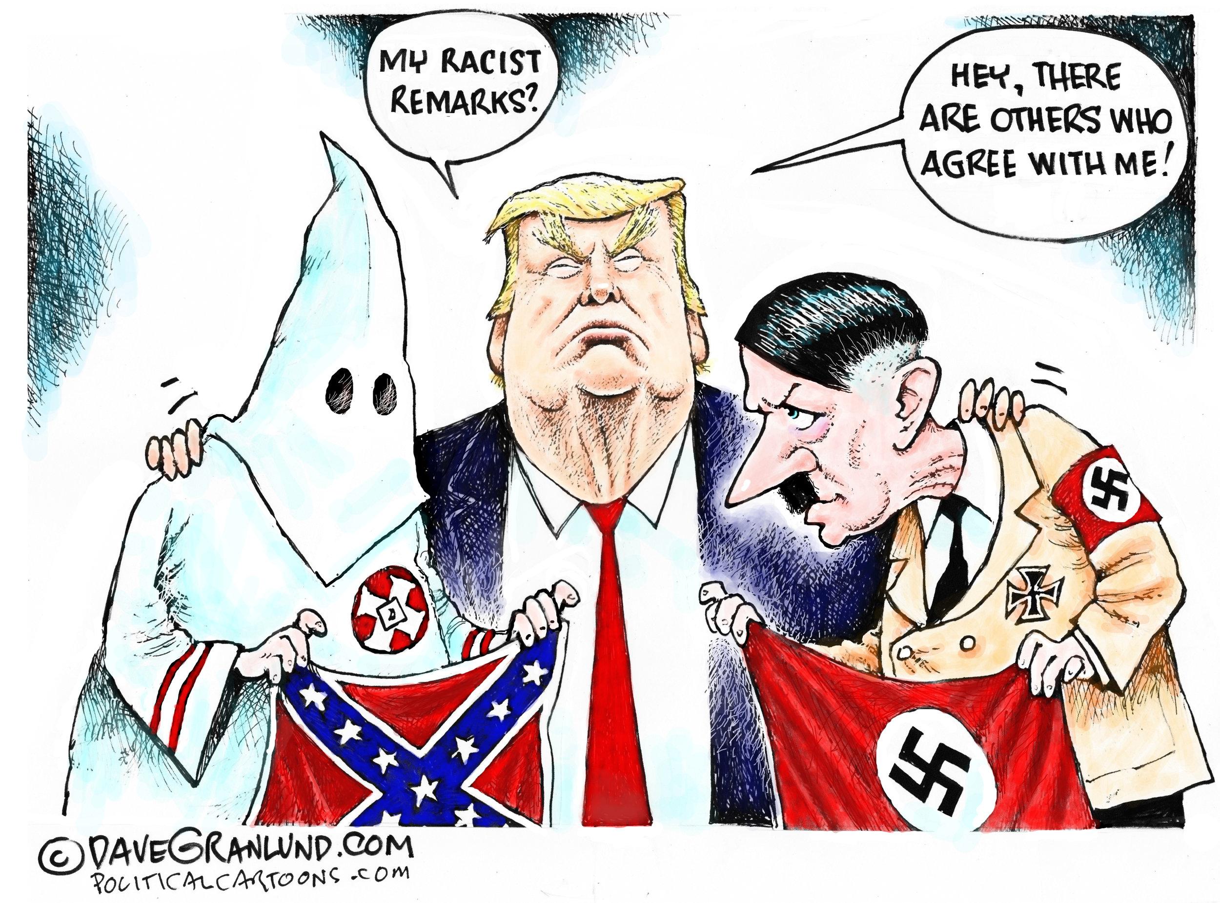 Trump Racist Remarks ( Dave Granlund )