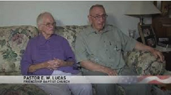 This article just wouldn't be complete without a screenshot of Pastor E. W. Lucas, and wife ( ABC 13 )