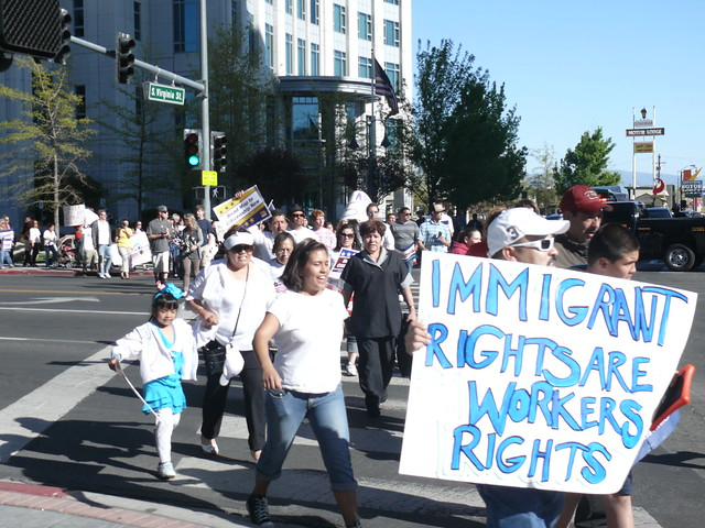 IMMIGRANT RIGHTS ( OccupyReno MediaCommittee )
