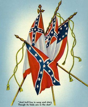 Confederate Flag ( Sally Tudor )