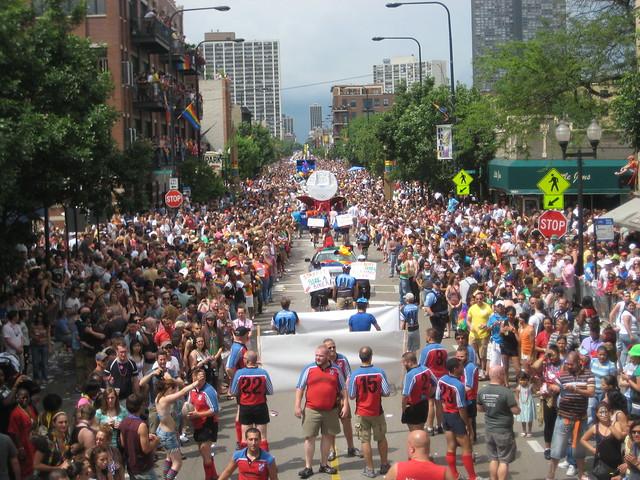 Chicago Pride Parade ( Tony )