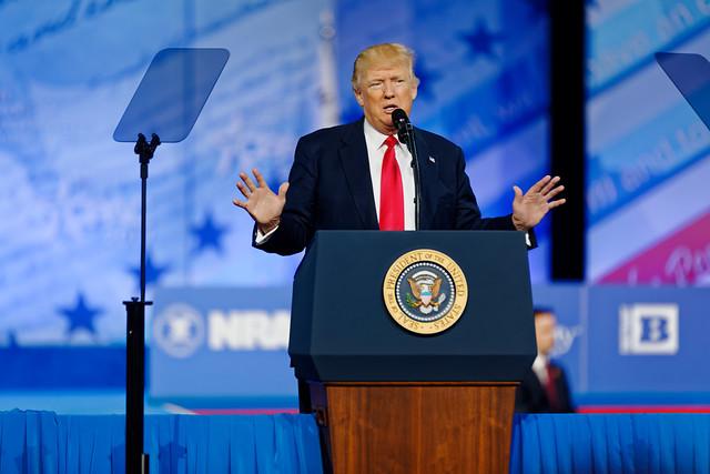 Donald Trump at CPAC 2017 ( Michael Vadon )