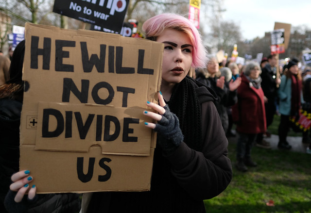 He will not divide us ( Alisdare Hickson )